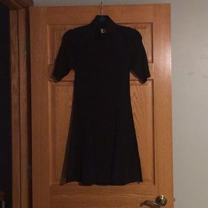 New Black and Navy A.L.C Knit Dress (Power Dress)